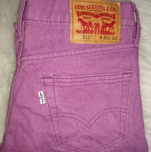 Men's Vintage 90's Levi's purple size 30x32